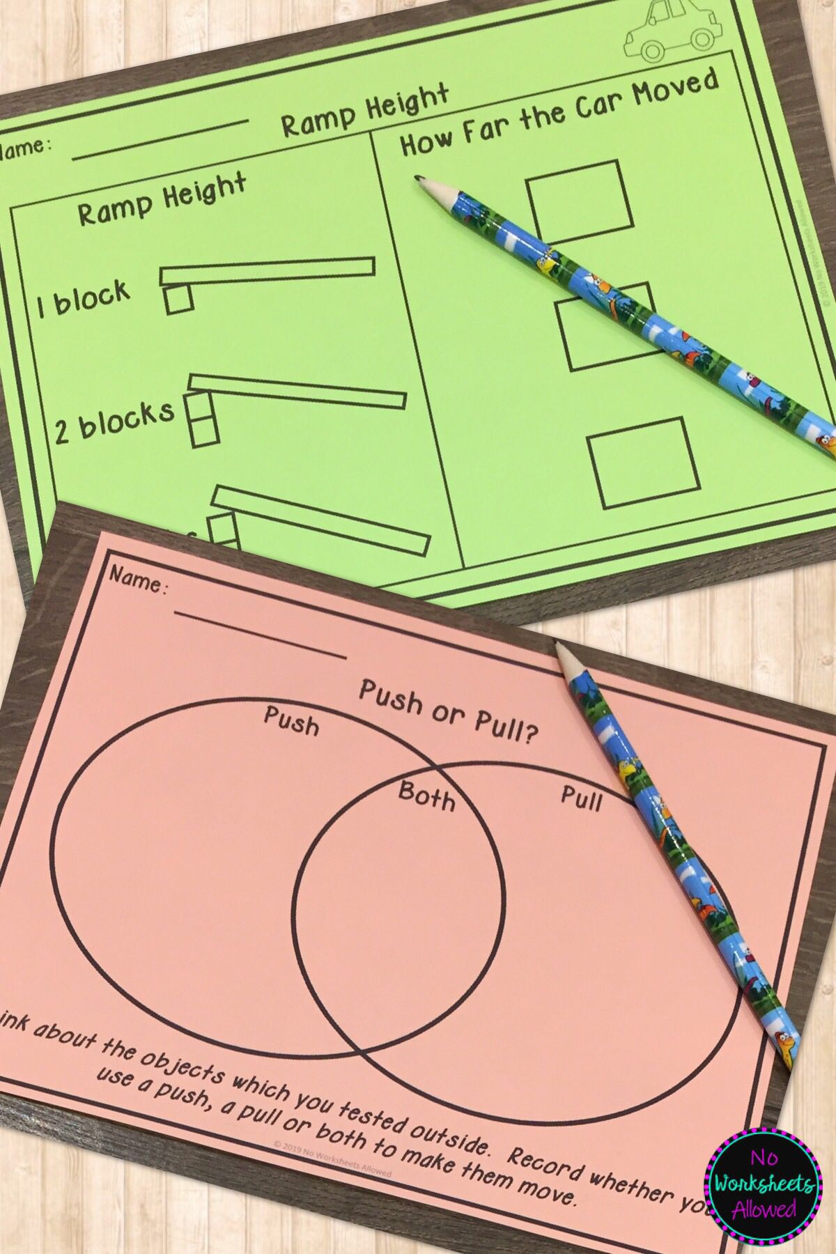 Push And Pull Science Experiments Activities Reader And