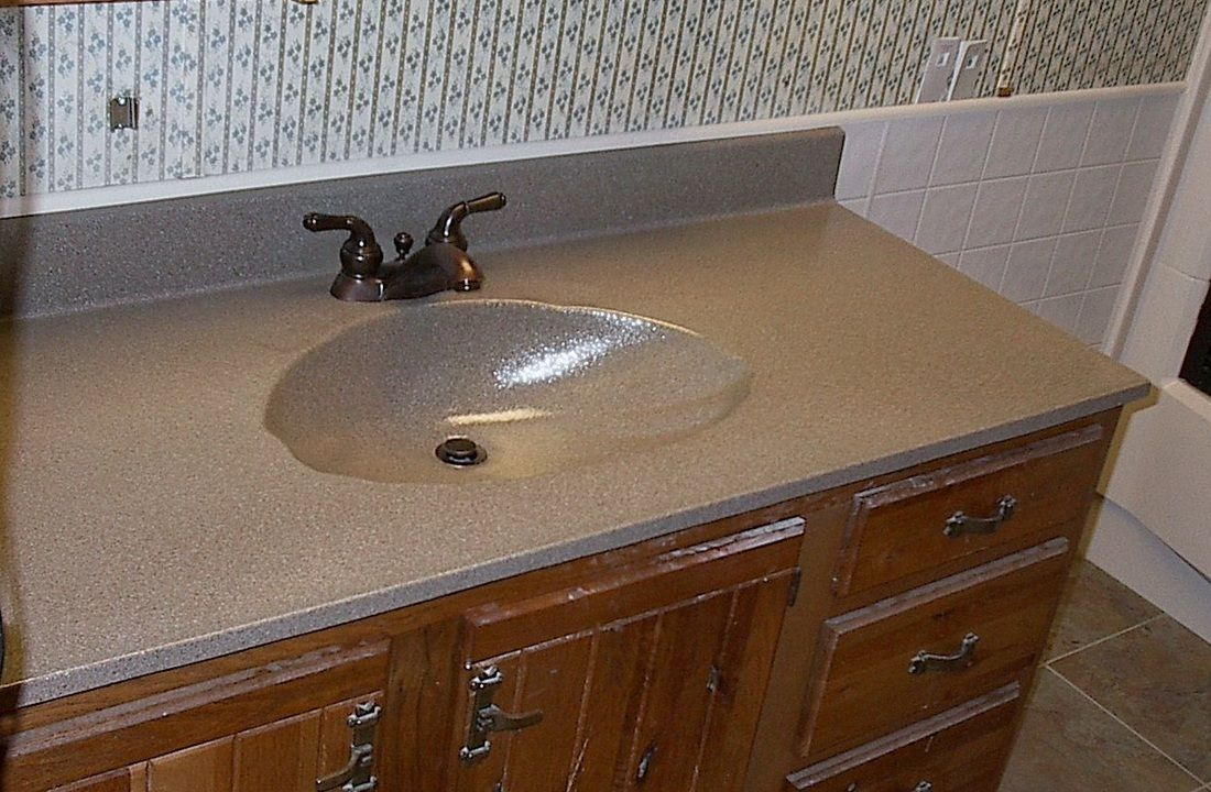 Refinish Bathroom Countertop