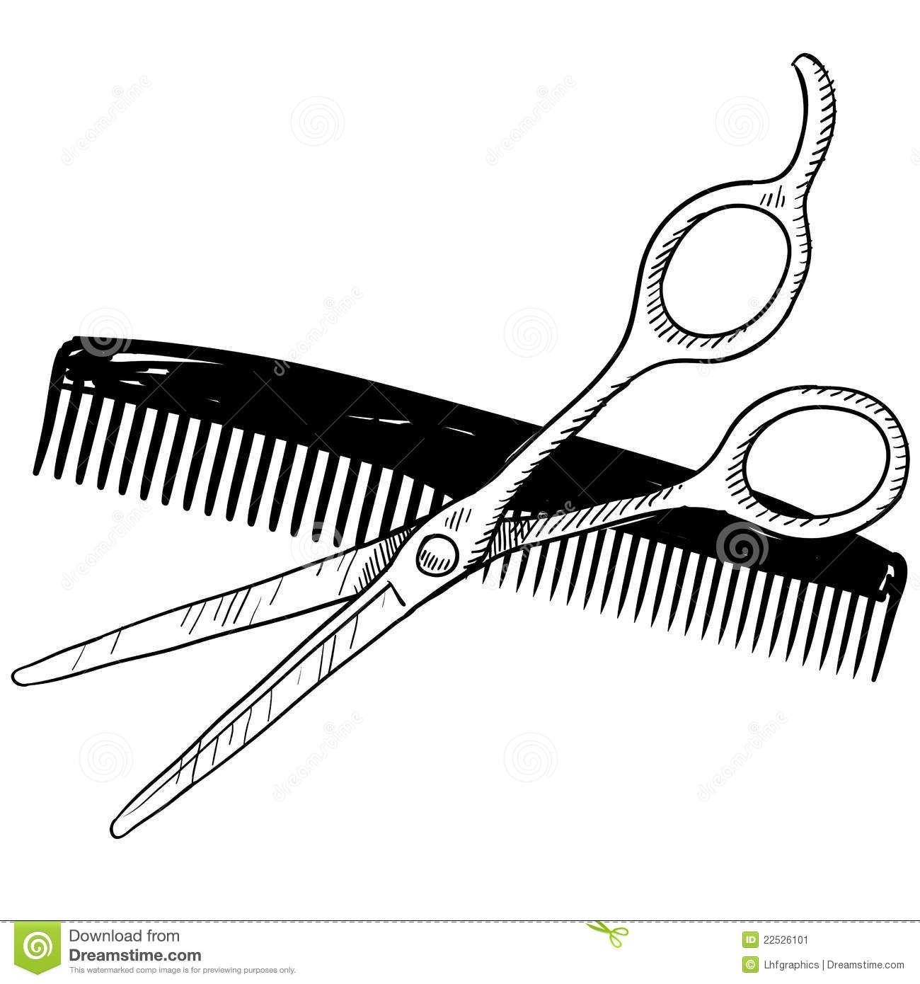 Images For Barber Comb Clip Art Kapsalons