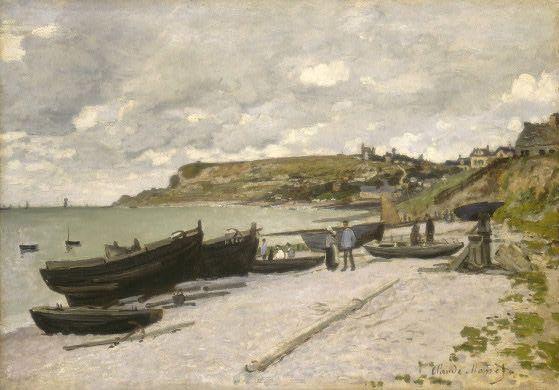 Claude Monet - Sainte-Adresse (1878)