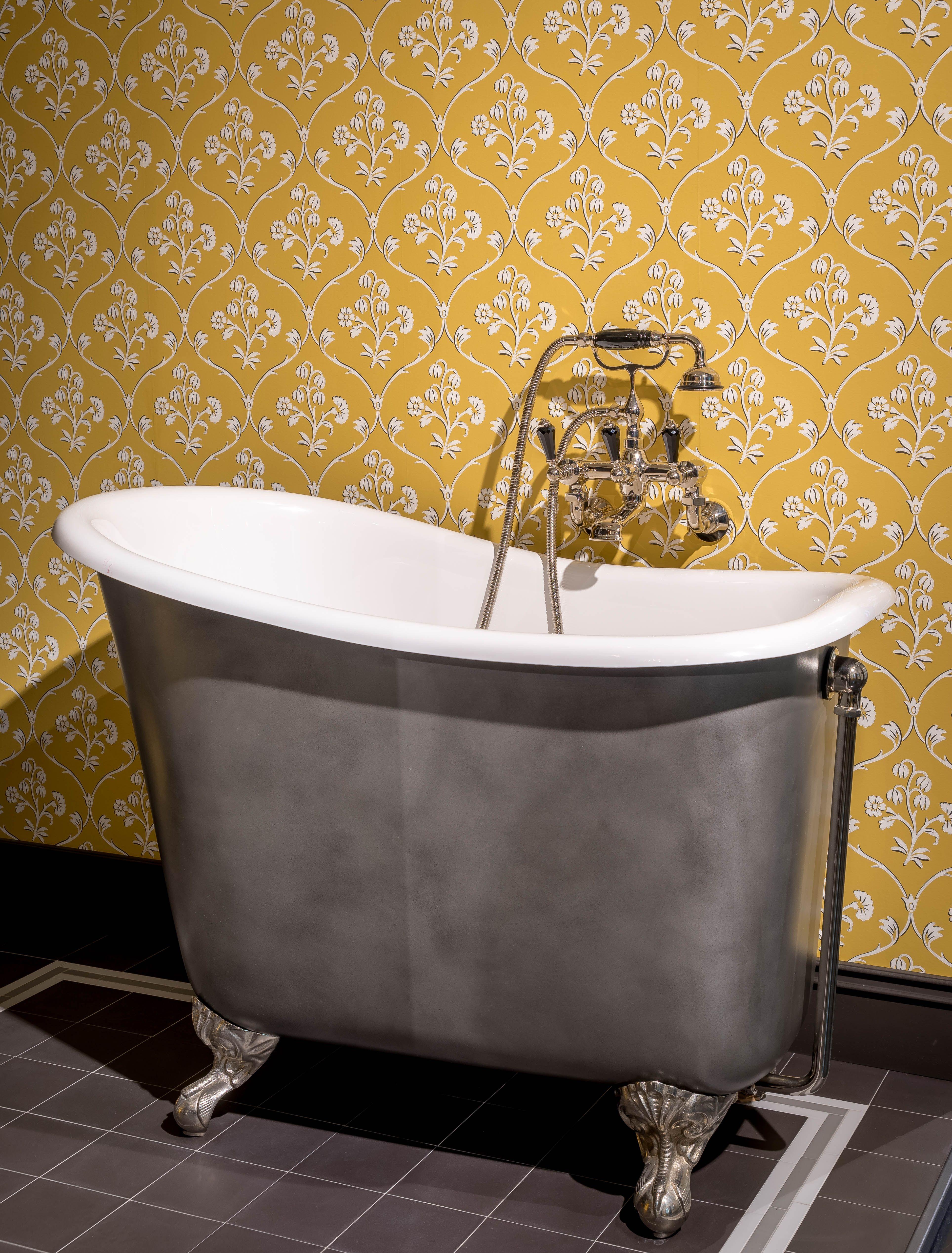 Vintage Badezimmer Traditionelle Bader Badezimmer Gusseisen