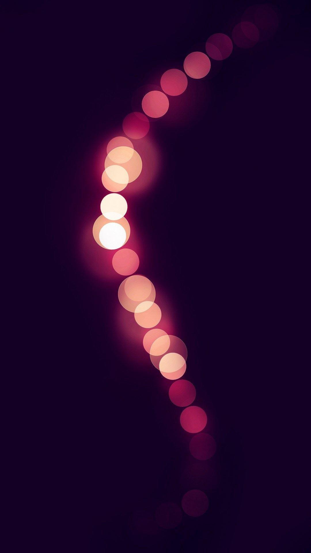 Pink Light Circles Bokeh iPhone 6 Plus HD Wallpaper.jpg 1