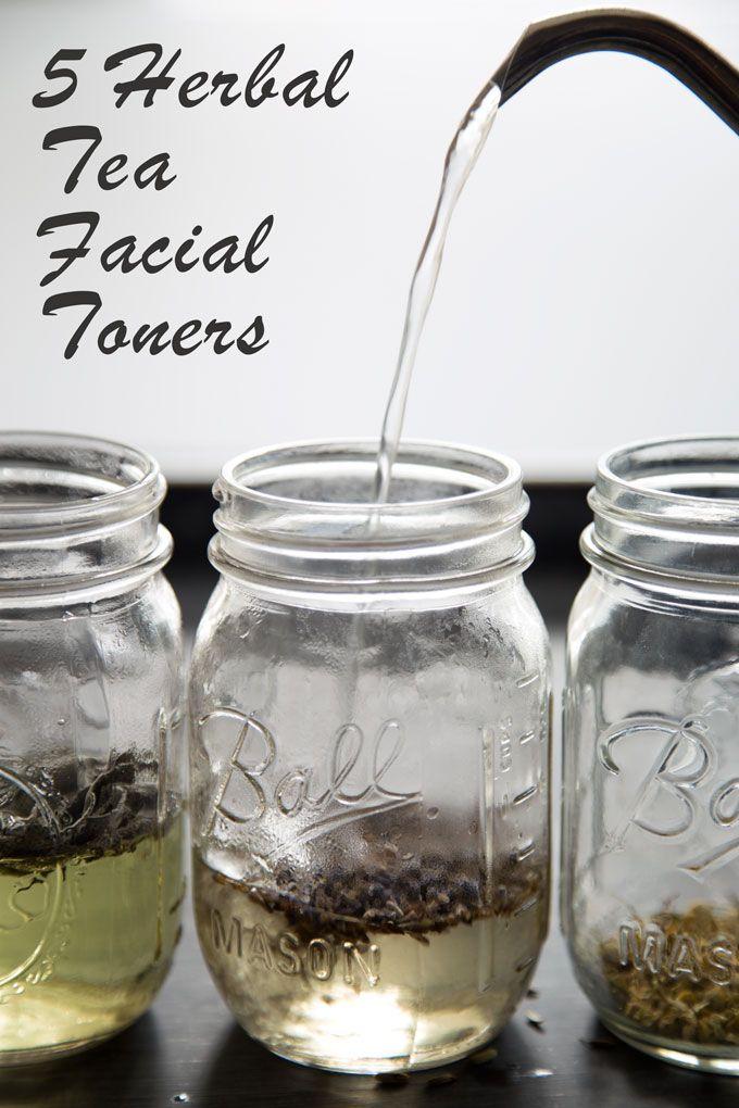5 Herbal Tea DIY Facial Toners