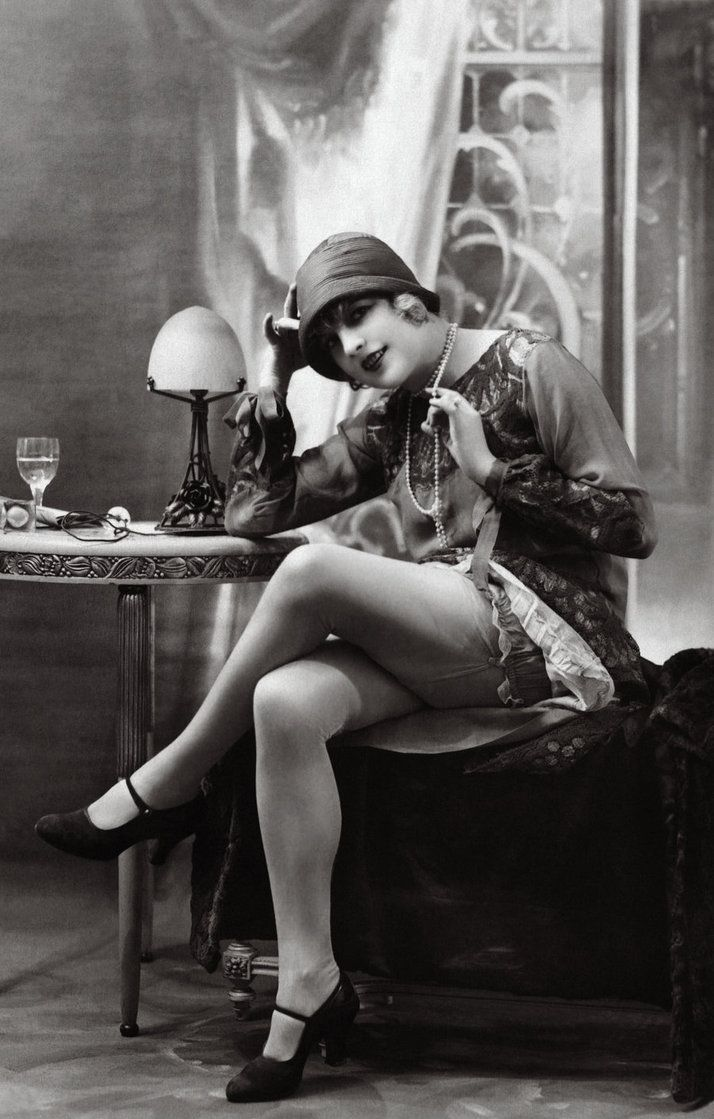 Vintage Flapper Photography