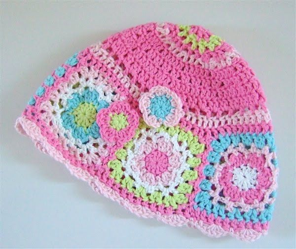 Floral Hats - collection [Free Crochet Pattern   Crochet crafts, Hat ...