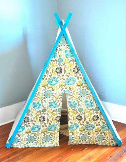 tuto tipi enfant tissu tipis cabanes int rieur pour les filles pinterest tuto tipi. Black Bedroom Furniture Sets. Home Design Ideas