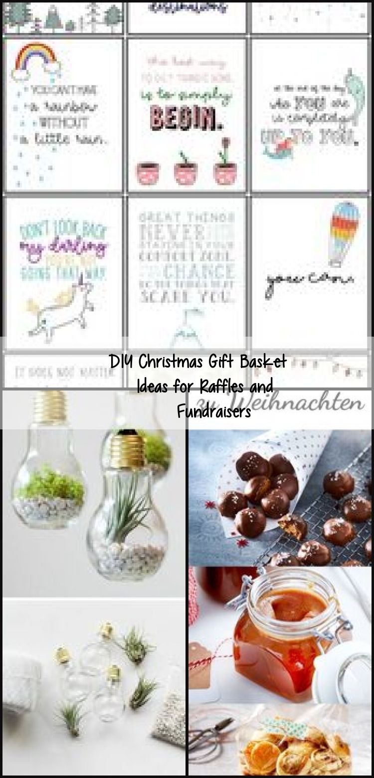 DIY Christmas Gift Basket Ideas for Raffles and Fundraisers, #diygiftsfood #diygiftsforfrien…
