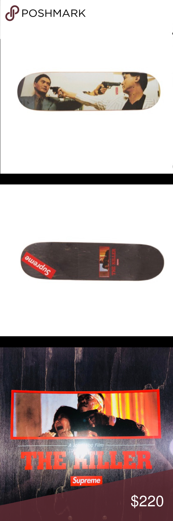 9a70ca91 Supreme The Killer Skateboard Deck Size 8.5 FW18 New With Tags Deadstock  See Pictures For Details. Supreme The Killer Skateboard Deck Multicolor  Size 8.5 ...