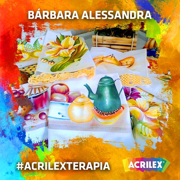 #Acrilexterapia por Bárbara Alessandra