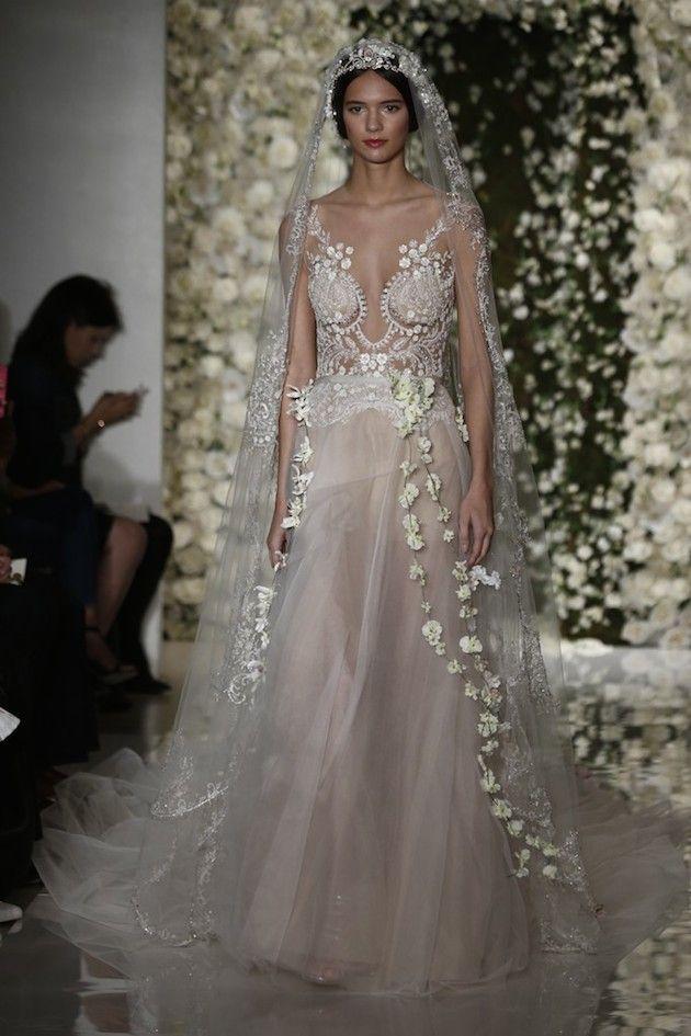 Bridal Fashion Week: Reem Acra Fall 2015 Wedding Dress Collection ...