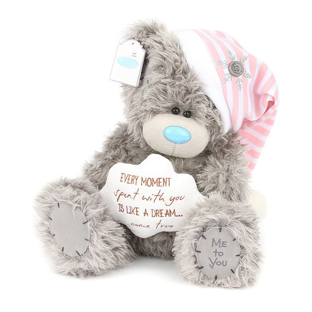 """Me To You 7/"""" Tiny Tatty Teddy Collectors Plush Bear Dressed as a Bunny Rabbit"""