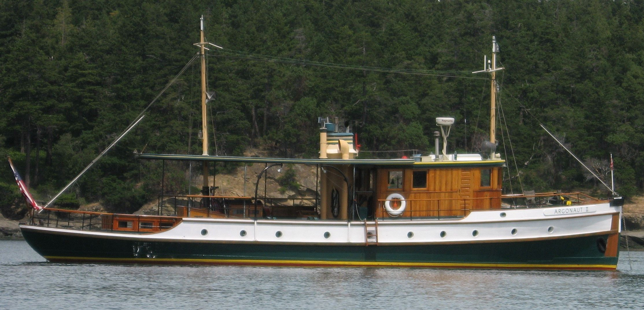 classic wooden motor sailers liveaboard boats for sale
