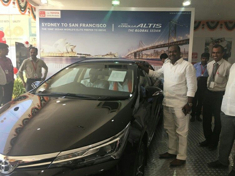 The New Toyota Corolla Altis Launched At Harsha Toyota Lb Nagar We Thank All Our Patrons Who Came Out And Joined Us In Ce Toyota Corolla Corolla Altis Toyota