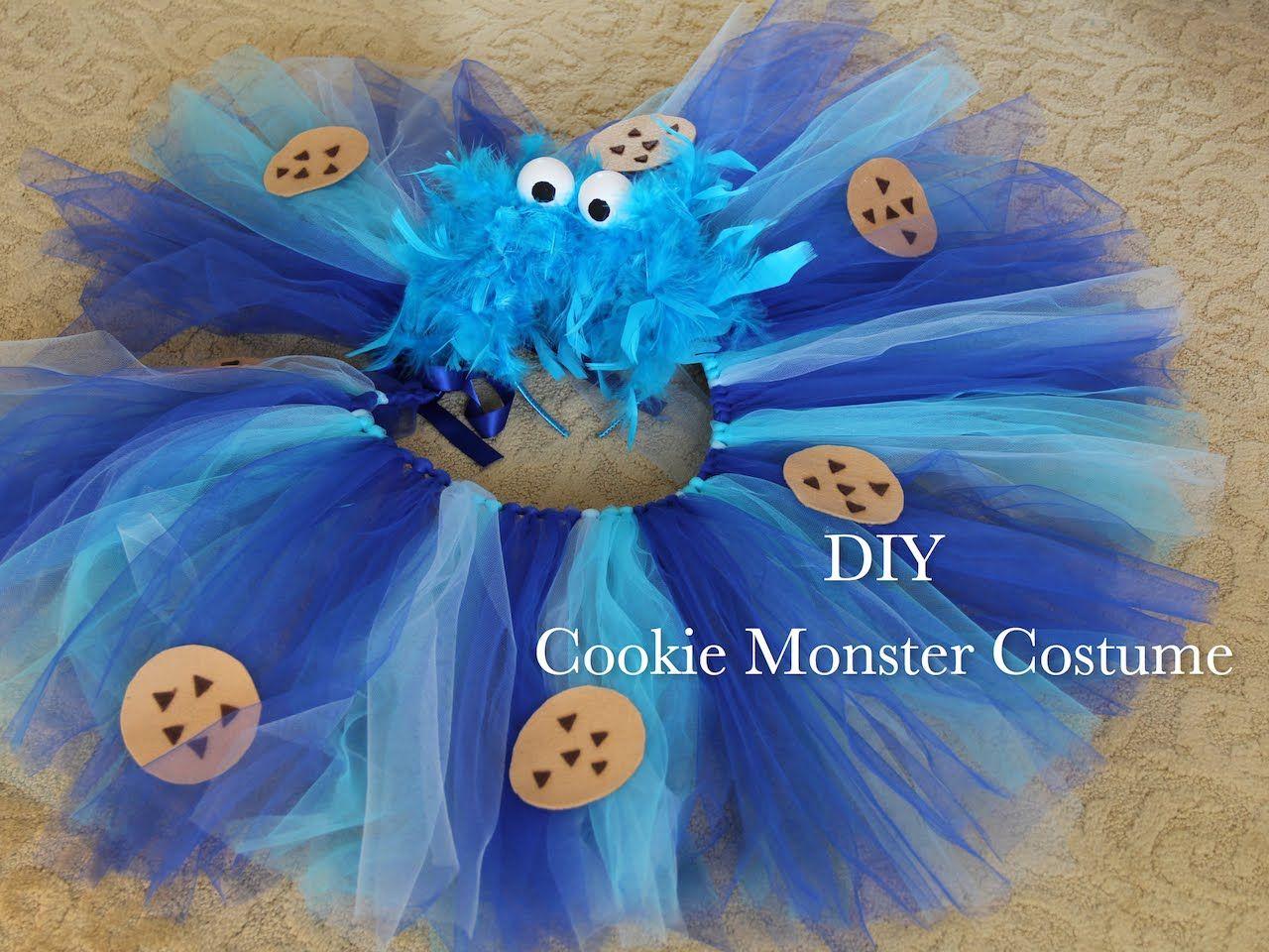 Monster Halloween Cookies: Cookie Monster Costume