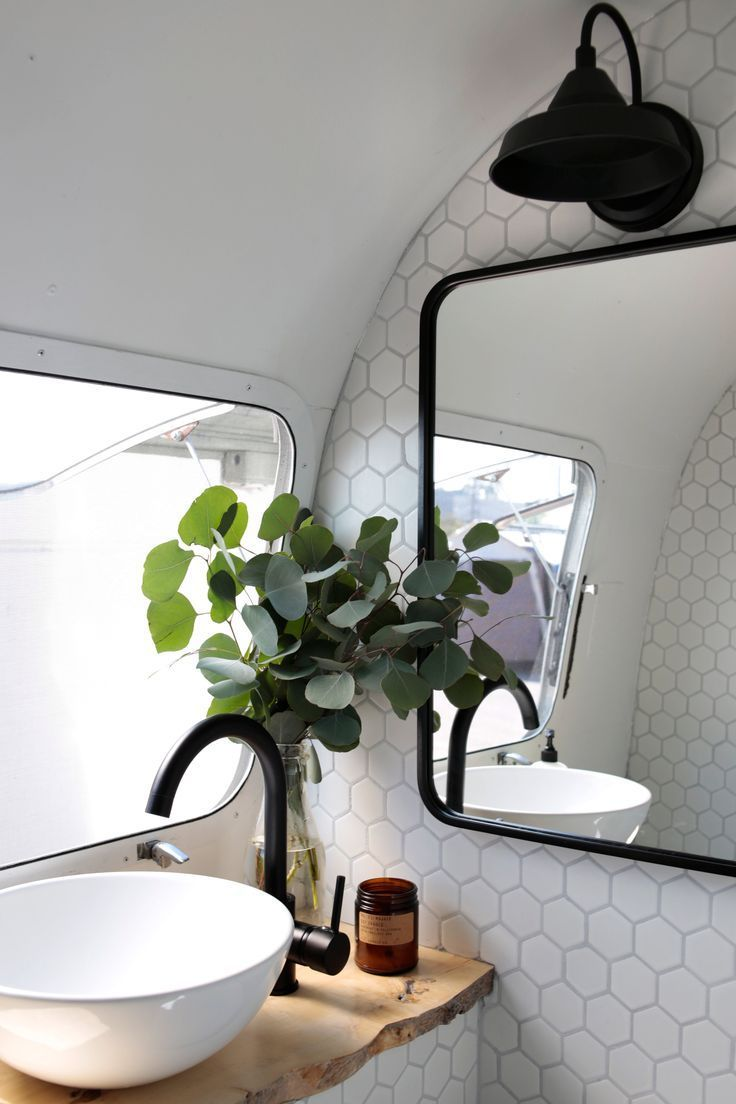 Photo of A 180-Square-Foot, 1972 Airstream Is a Beautifully Renovated Home for Two
