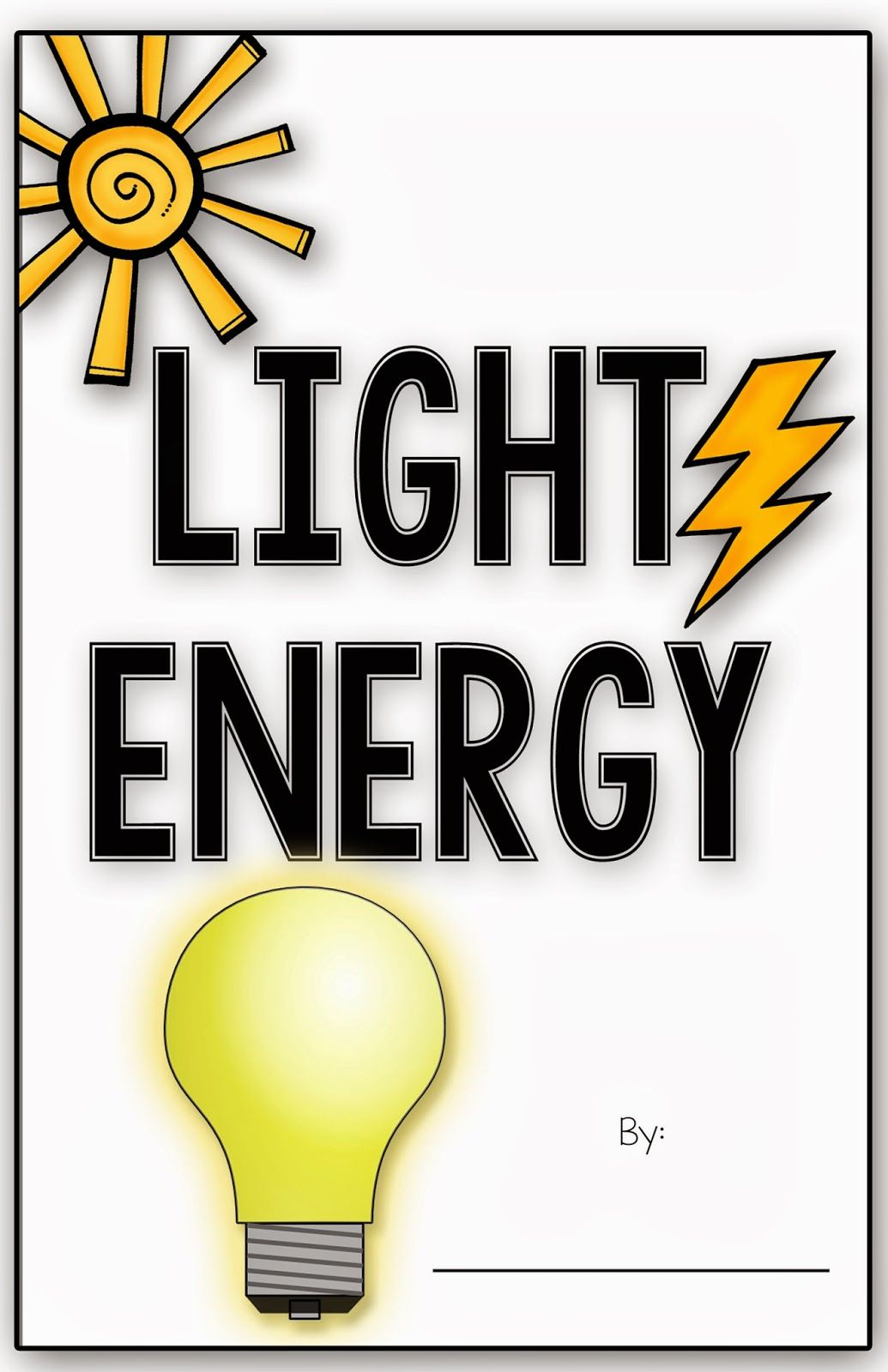 Workbooks solar energy worksheets for kids : Forms of Energy & a FREEBIE!!! | Lights, Books and School