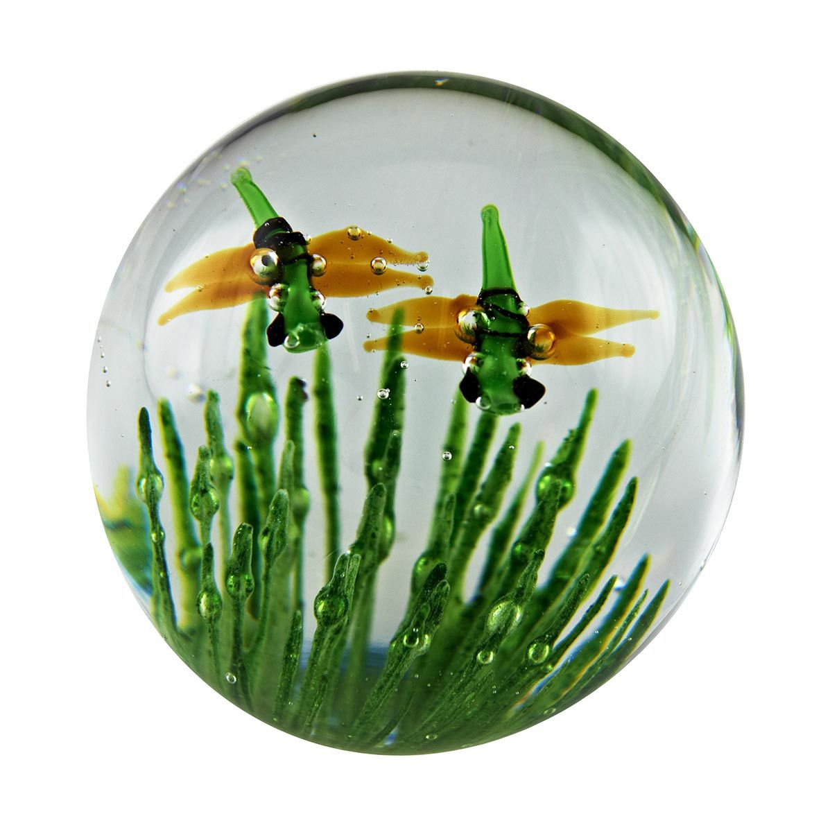 Dragonfly glow small paperweight free shipping nationwide