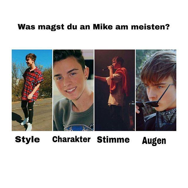 Naa,was mögt ihr besonders an Mike? Meine Antwort: ALLES! Besonders seine STIMME!!❤ #teamsinger @mikesinger