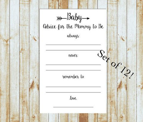 Advice for the Mommy to Be - Feathered Arrow