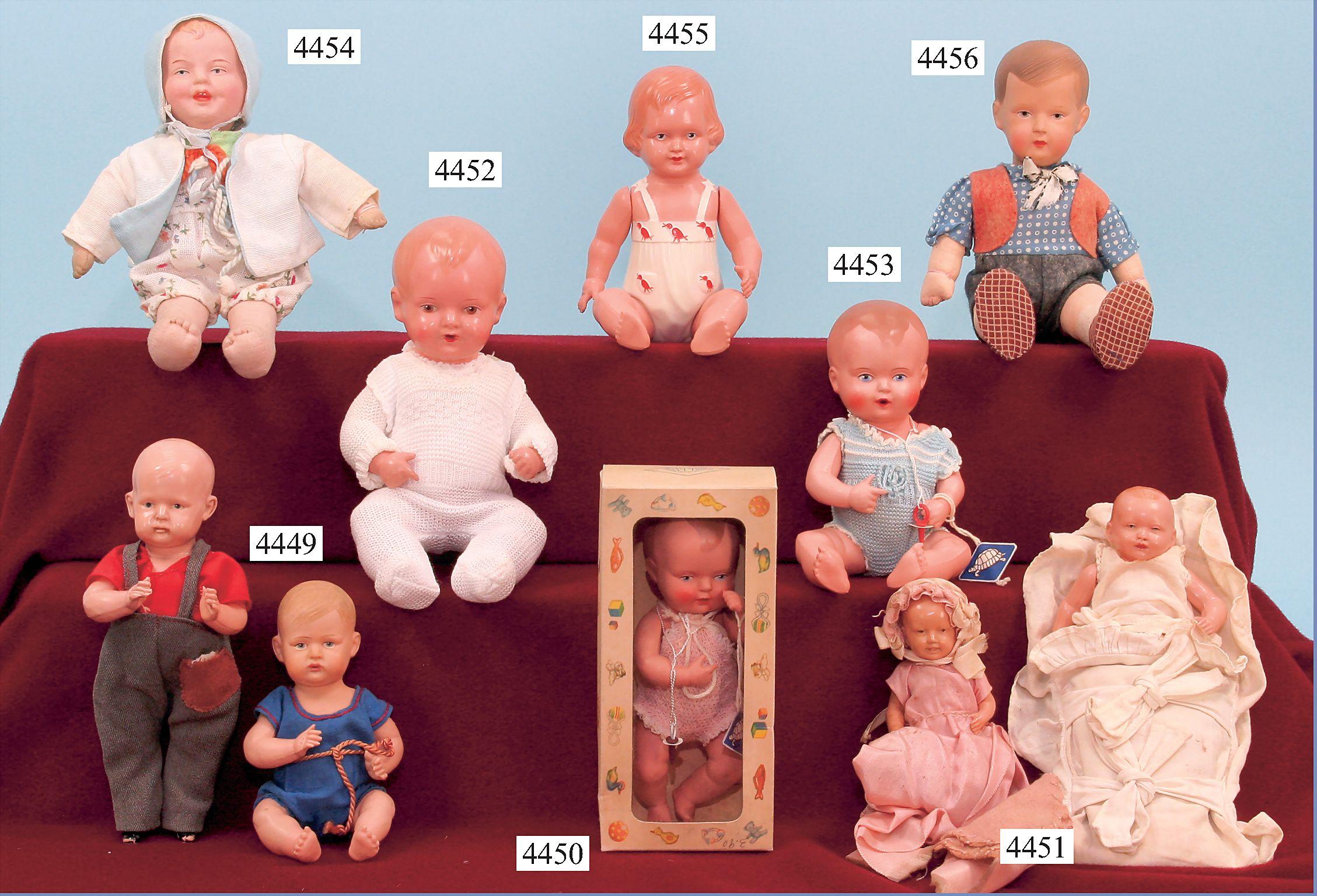Celluloid dolls german