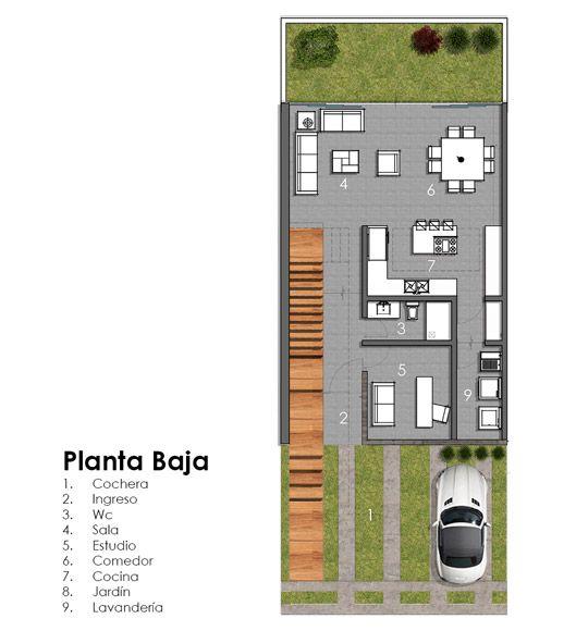 Casa Valle Imperial 155 De Creato Arquitectos México Planos De Casas Minimalistas Fachada De Casas Mexicanas Fachadas De Casas Contemporaneas
