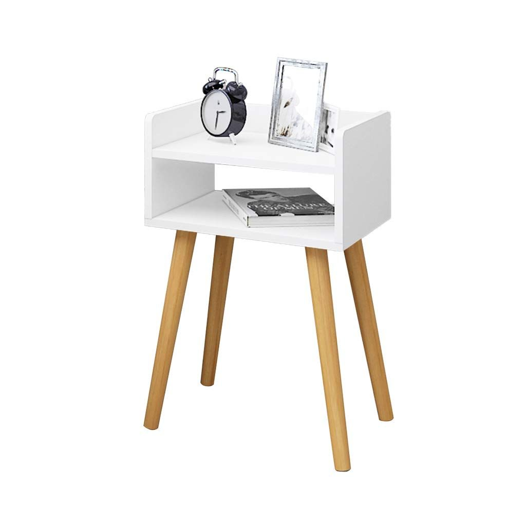 Home Warehouse Bedroom Bedside Table Household Multifunction Solid Wood Coffee Table Small Apartment Livin Solid Wood Coffee Table Small Apartment Living Living Room Storage #side #tables #with #drawers #for #living #room