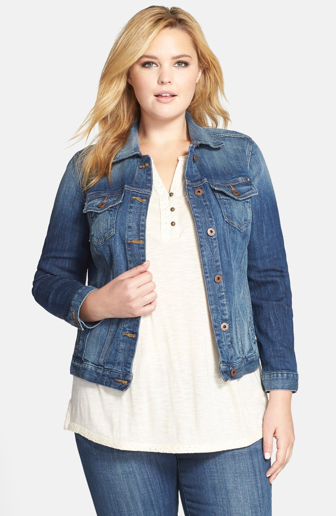 Plus Size Classic Denim Jacket In Verve | Lucky Brand