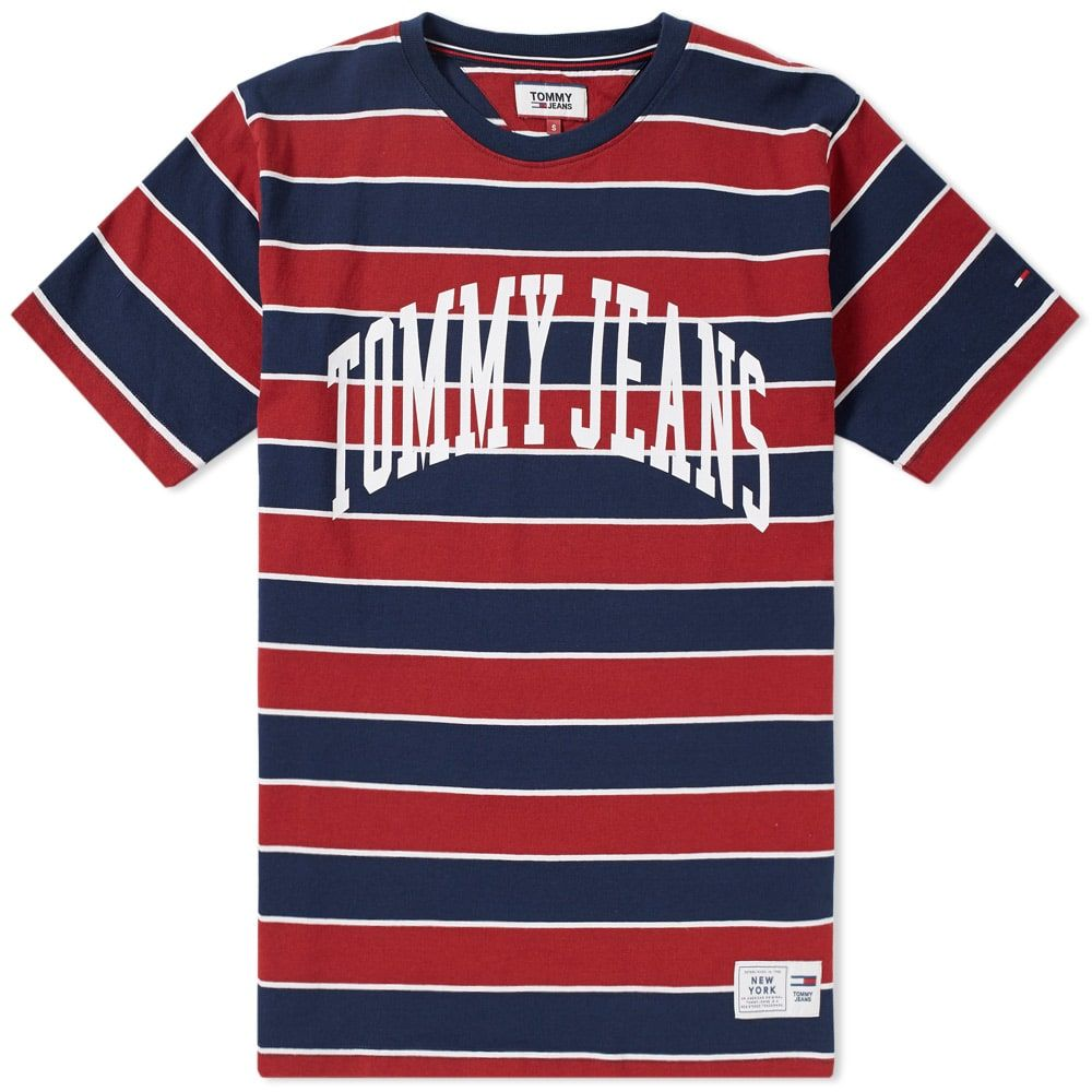 f64500f610 TOMMY JEANS TOMMY JEANS COLLEGIATE STRIPE TEE.  tommyjeans  cloth ...