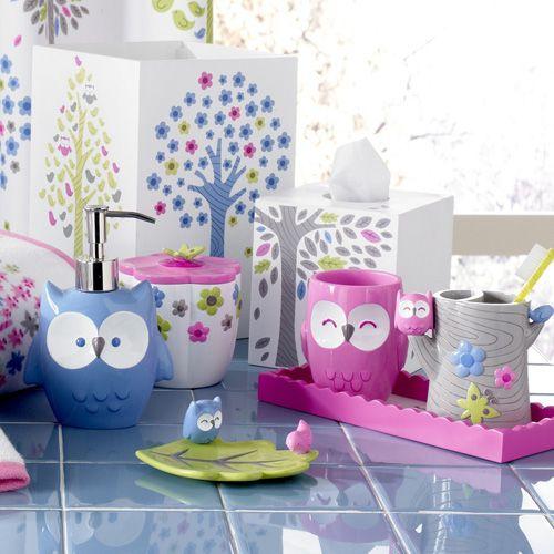 Merry Meadow Bathroom Collection Owl Bathroom Little Girl Bathrooms Owl Decor
