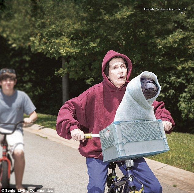 E.T.: 'Our seniors saw the calendar from Germany and thought it was such a great idea that...