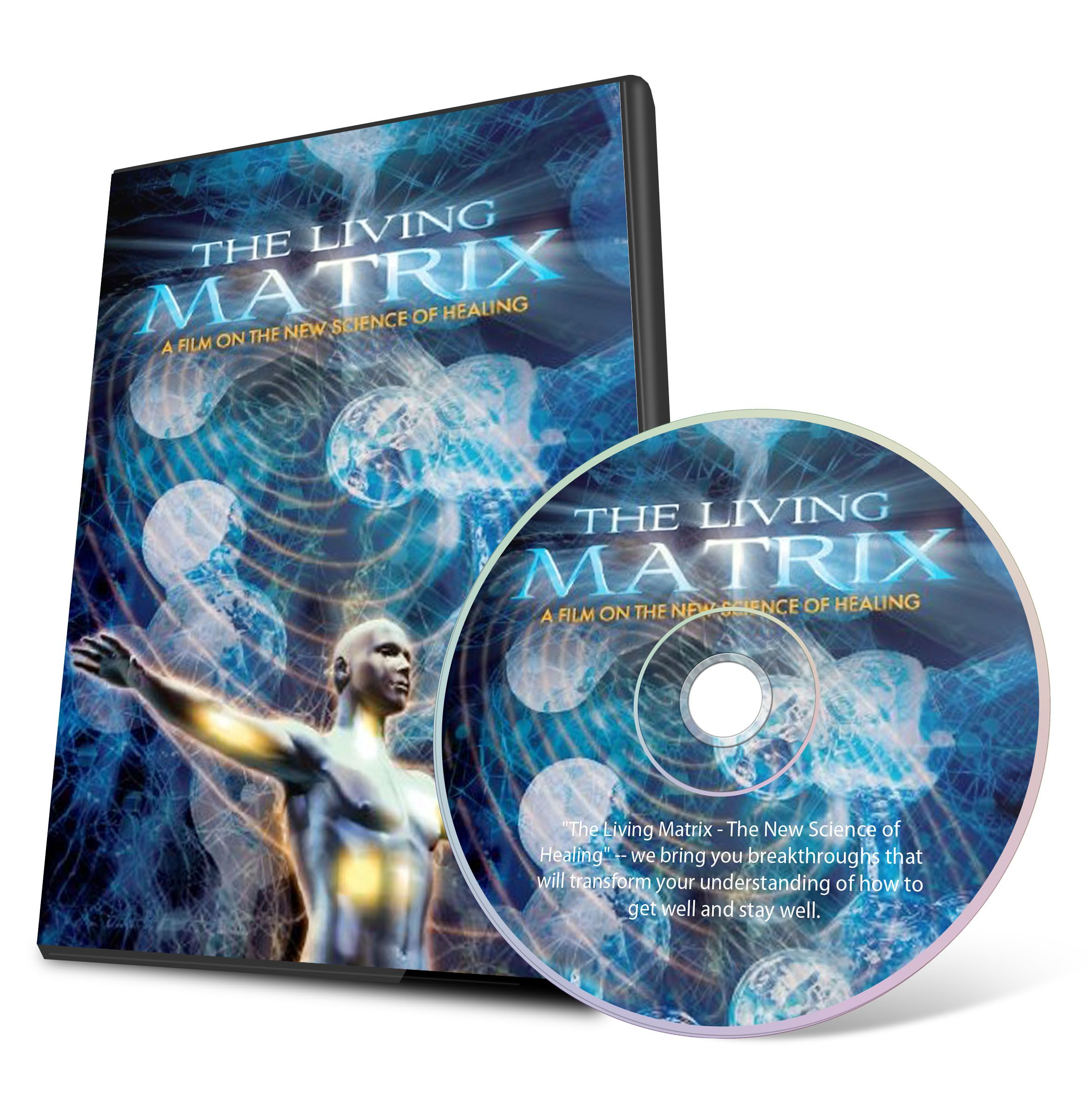 Living Matrix DVD – this film will transform your understanding of how to get well and stay well.