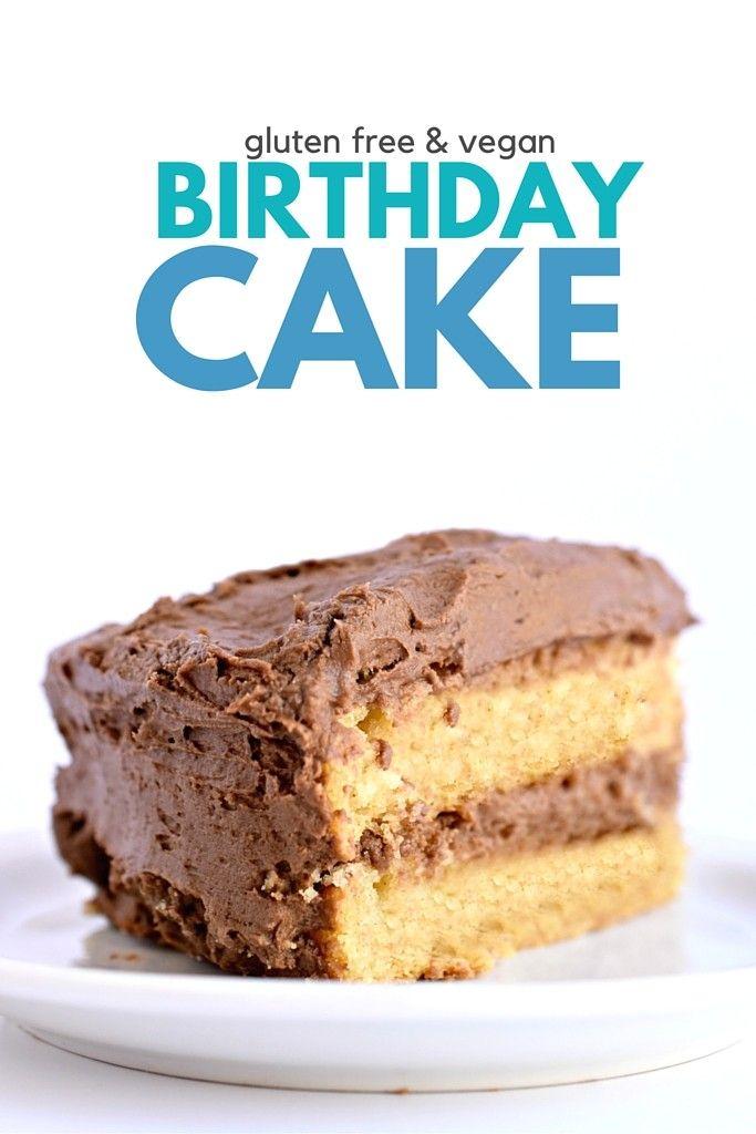 Gluten Free Vegan Yellow Cake Recipe Vegan Sweets Pinterest
