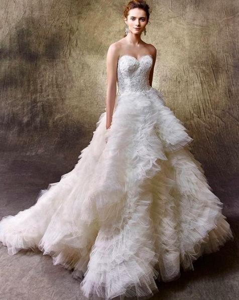 Enzoani Gelin elbisesi, Balo elbisesi, Uzun gelinlikler