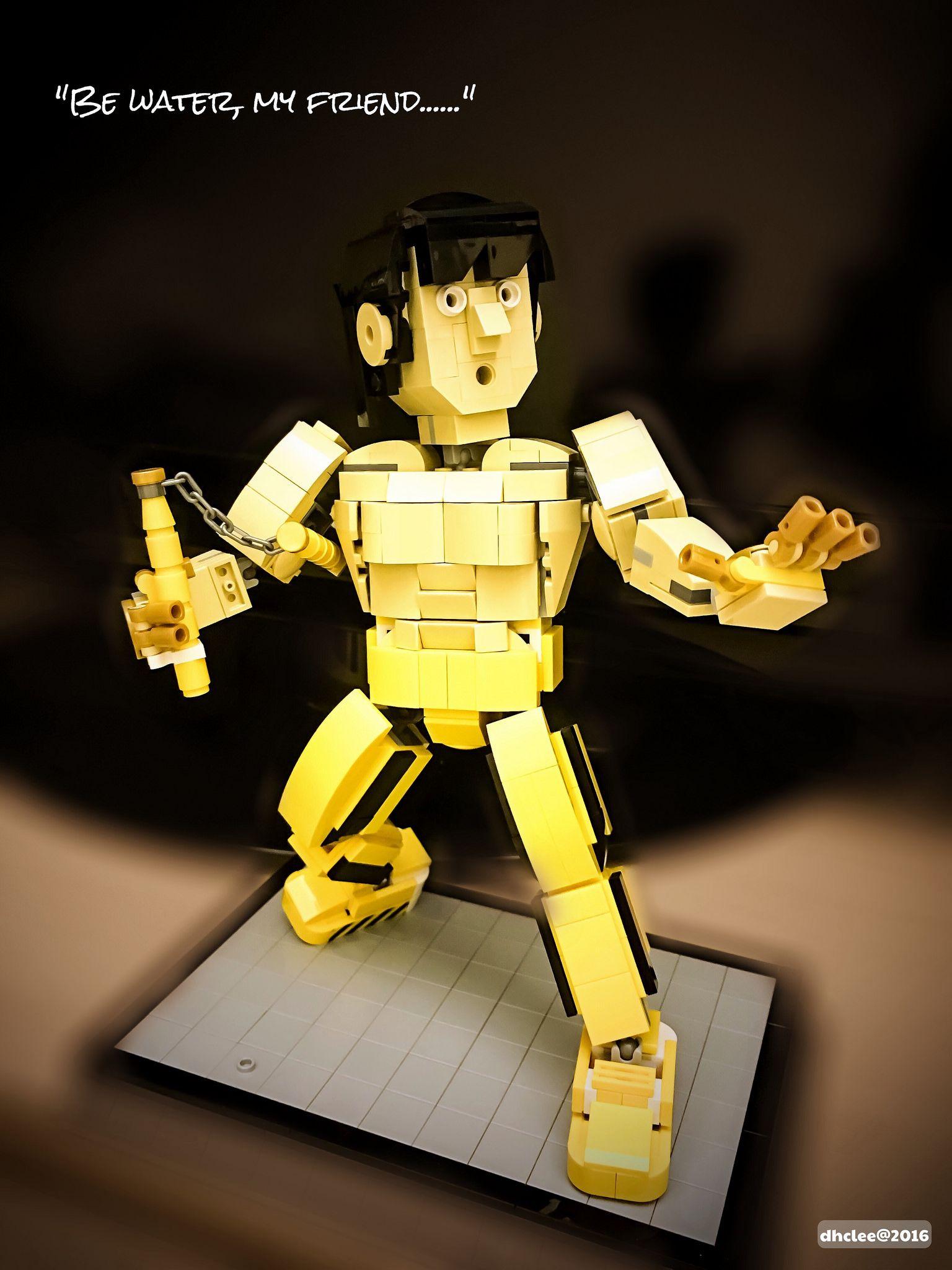 Lego Bruce Lee Lego Lego Humor Legos