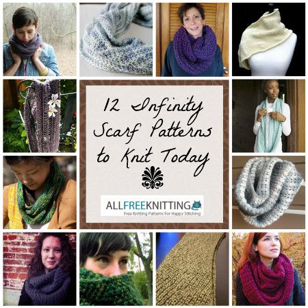40 Infinity Scarf Patterns Youll Love Scarf Patterns Infinity