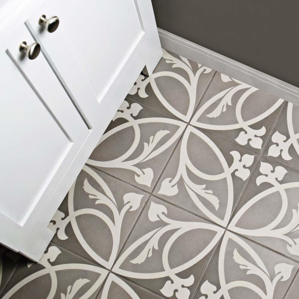 Merola Tile Caprice Liberty Taupe 7 7 8 In X 7 7 8 In