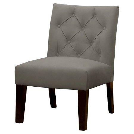 135 Geneva Tufted Slipper Chair Threshold Target