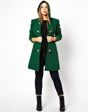 CURVE Exclusive Duffle Coat With Hood | Coats, ASOS and Duffle coat