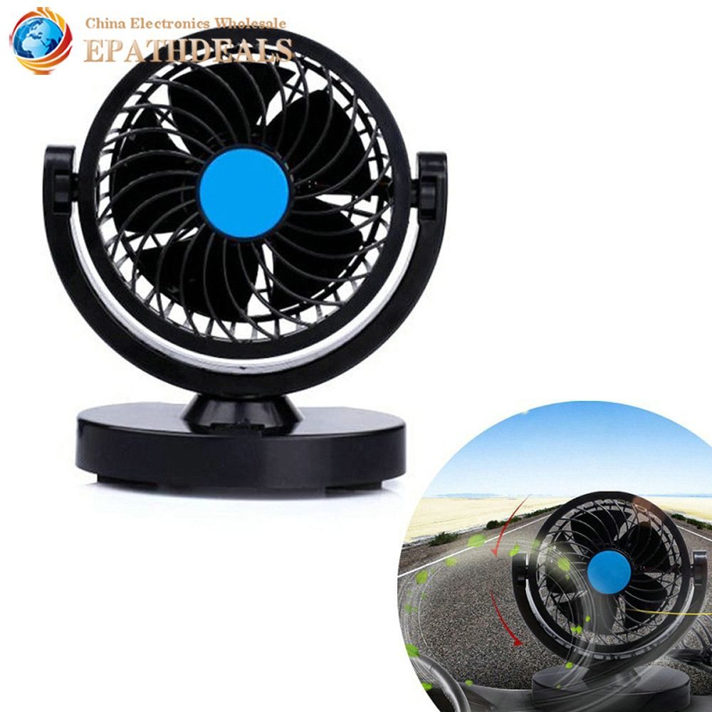 Low Noise 12V 360 Rotating Auto Car Air Conditioner
