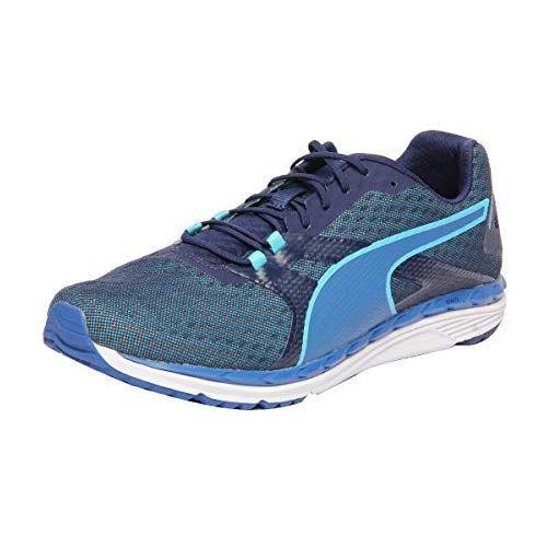 1a27331e32bf2e Puma Men s Pluto DP Black-Amazon-Silver Running Shoes - 7 UK India (40.5  EU)