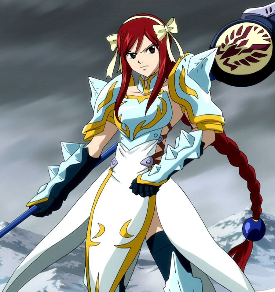 Erza Scarlet🍰 Fairy tail characters, Fairy tail guild