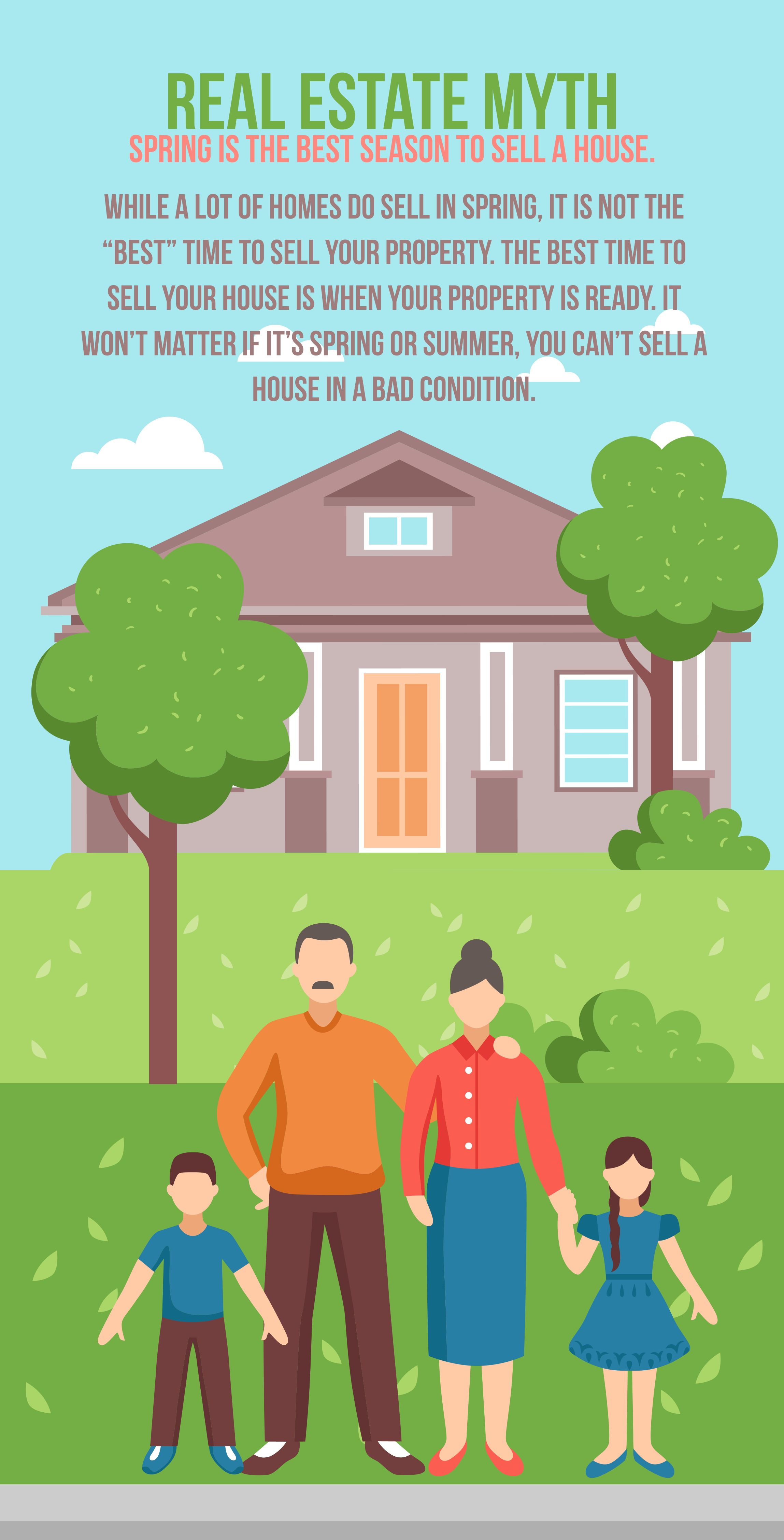 Real Estate Mythspring Is The Best Season To Sell A House While A