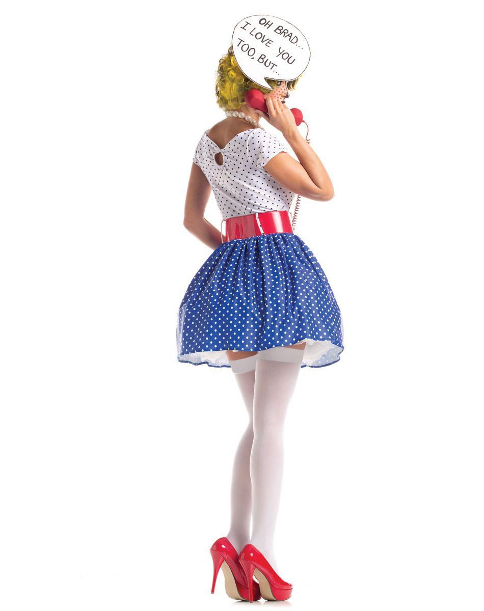 042365a436d8 spirit halloween  pop art cutie adult women s costume.  59.99 ...