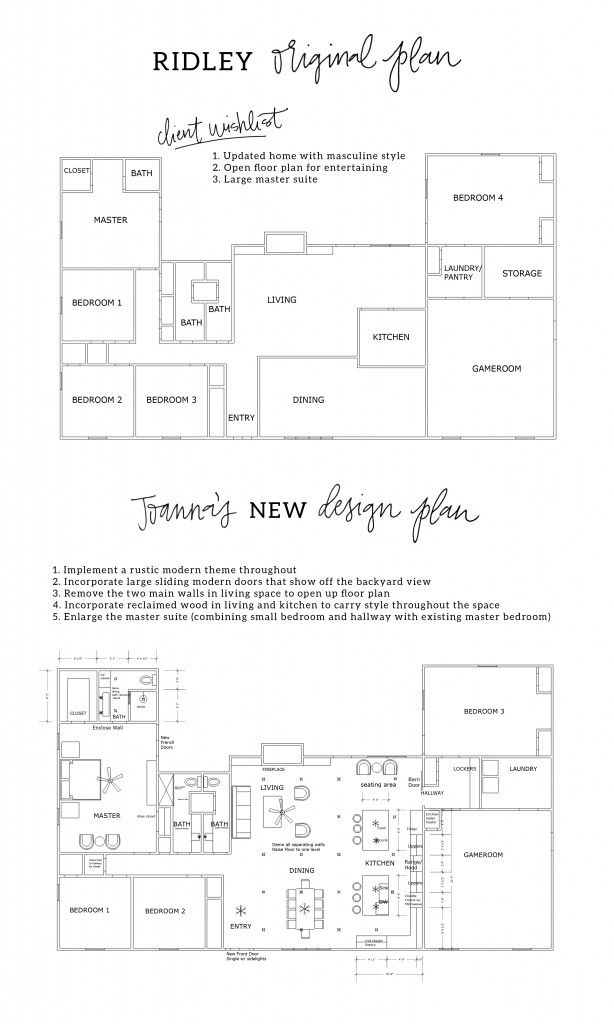 The Peach House Magnolia Homes Fixer Upper House House Plans Floor Plan Layout