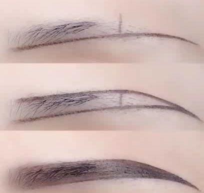 beginners'eyebrow makeup skills  lookwei in 2020