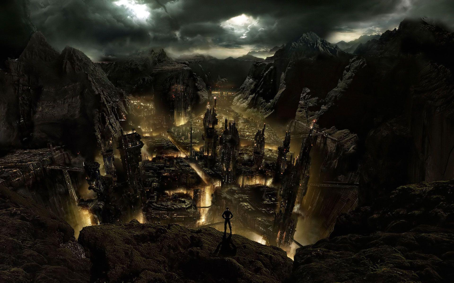 fantasy city - Google Search | Fantasy Art | Pinterest ...