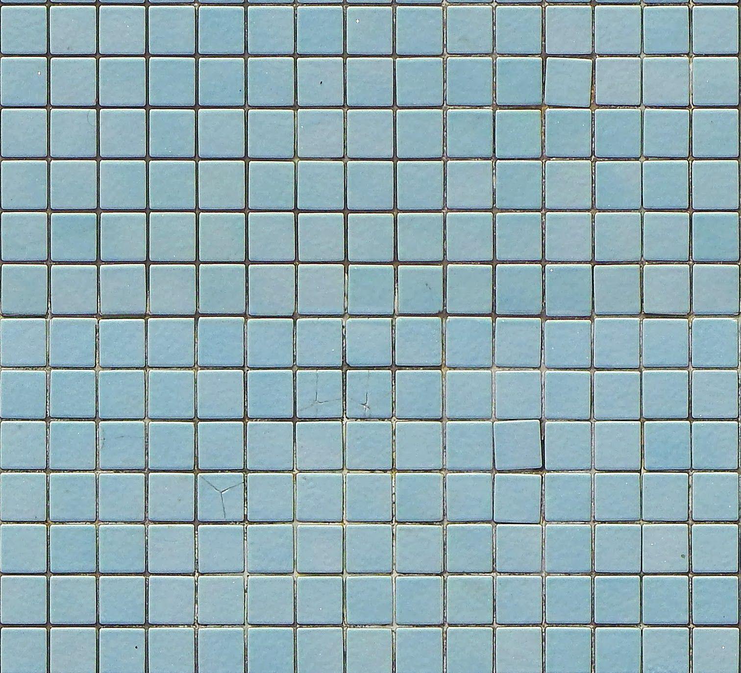 Tileable Blue Mosaic Pool Tiles Texture Maps Texturise