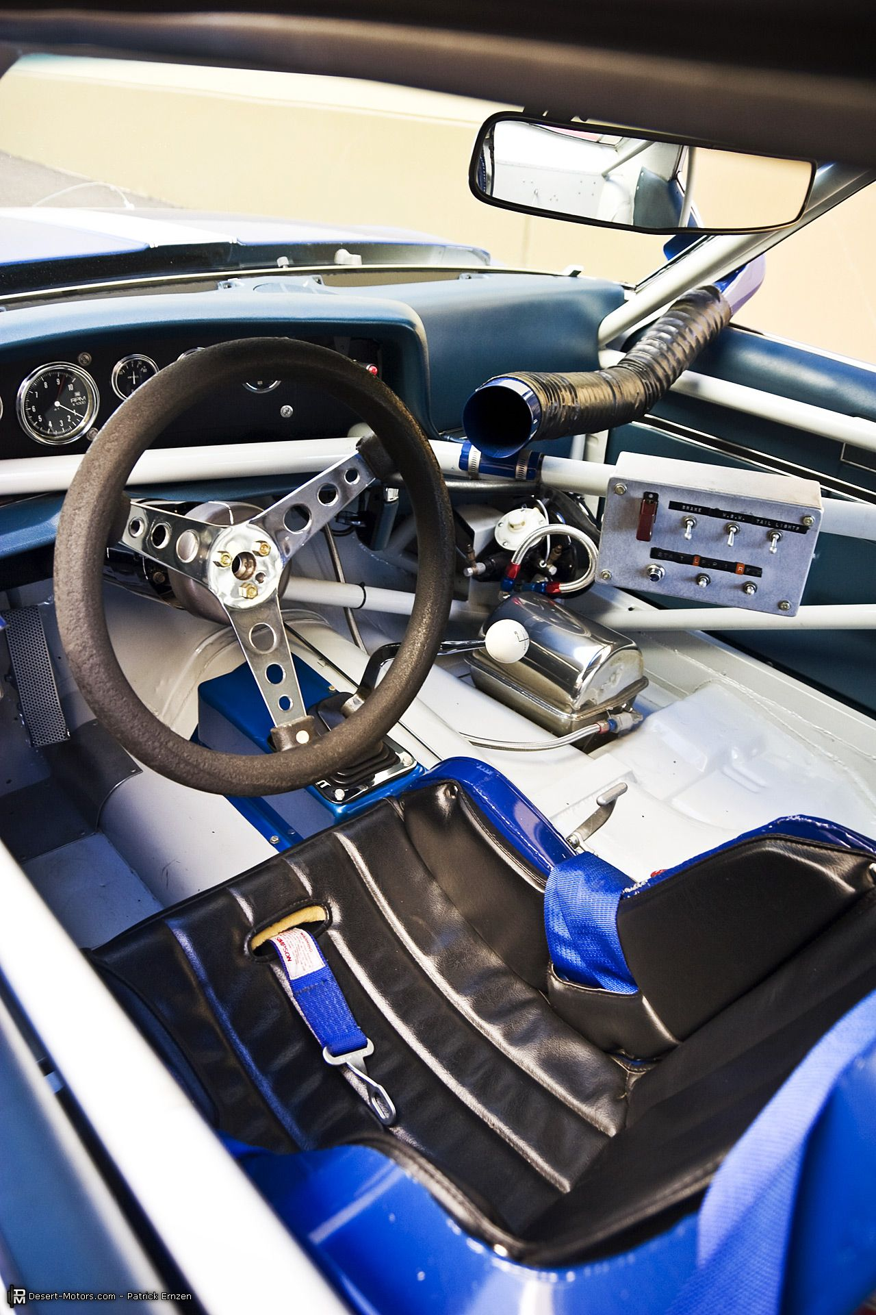 1971 Trans Am AMC Javelin Mark Donohue Championship Car Interior