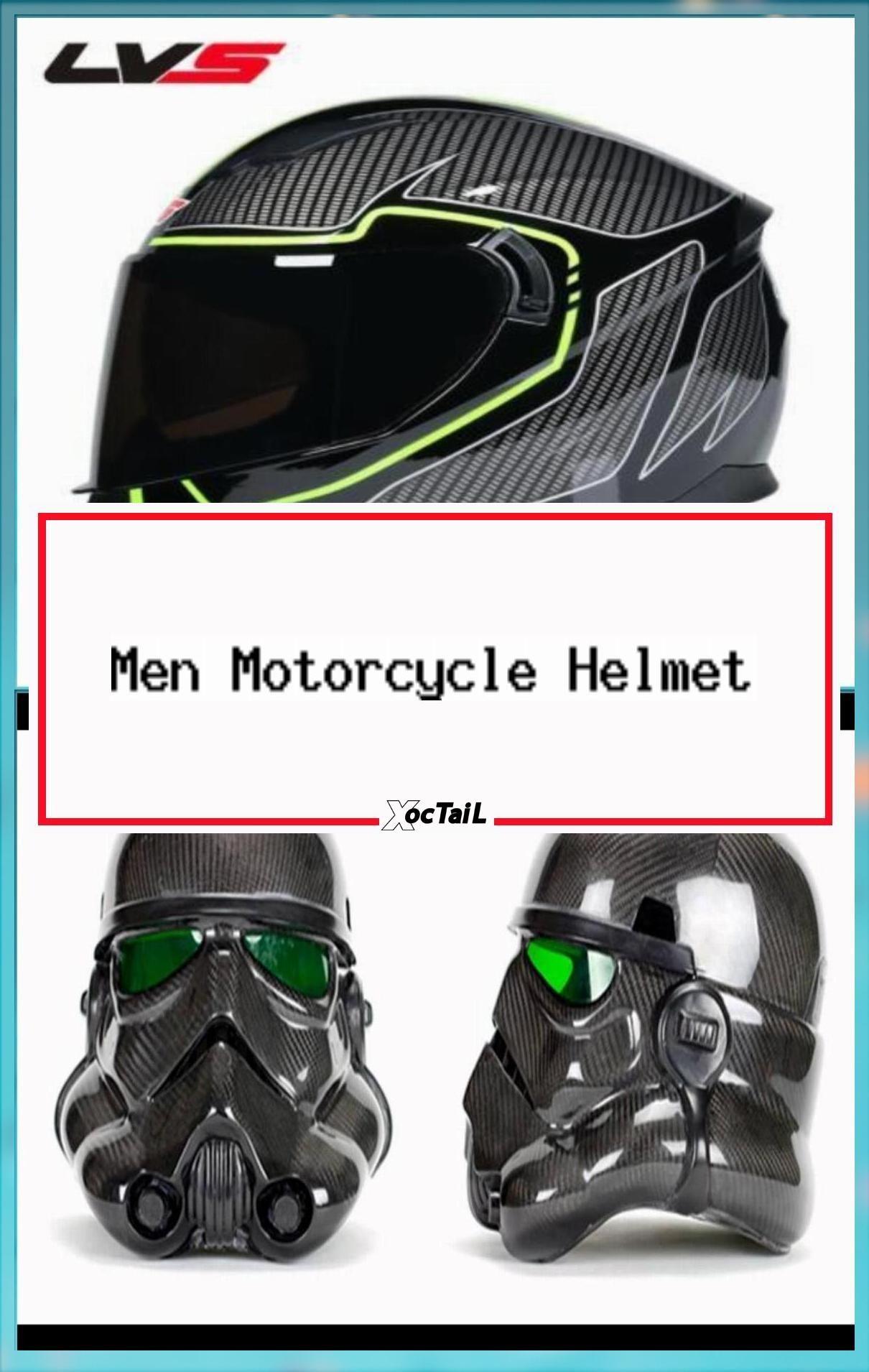 Men Motorcycle Helmet Women Full Face Warm Winter Motor Bike Moto Scooter  Motor…