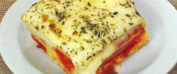 Foto - Receita de Sanduíche de forno com pão de forma!